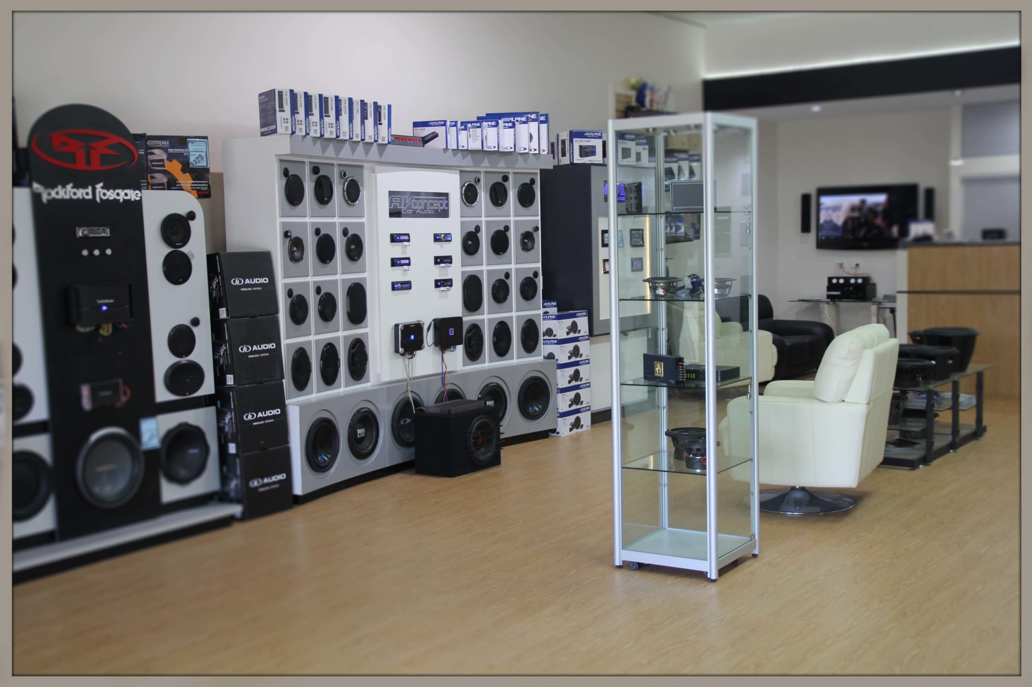 Our Showroom Av Concept Audio And Visual