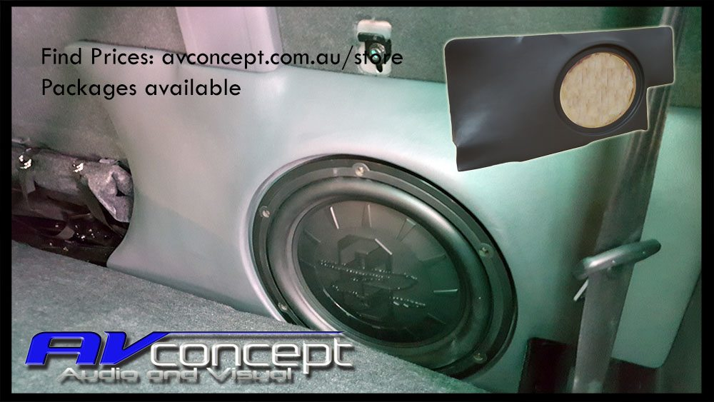 Ford Ranger Dual Cab subwoofer Box to suit PX and PX II