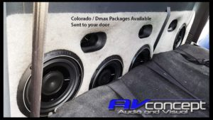Holden Colorado Isuzu D max Stereo Subwoofer Box