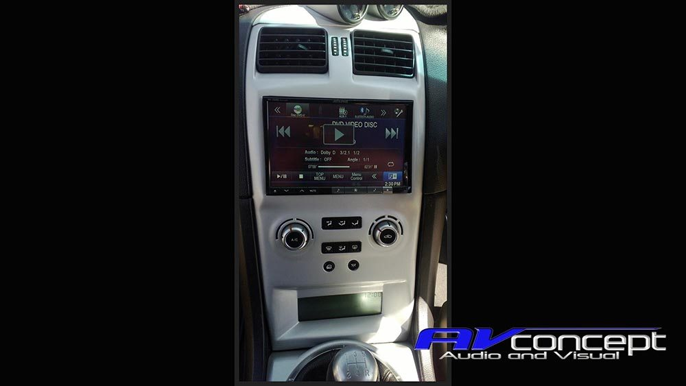 Stereo Ba Bf Falcon Screen Av Concept Audio And Visual