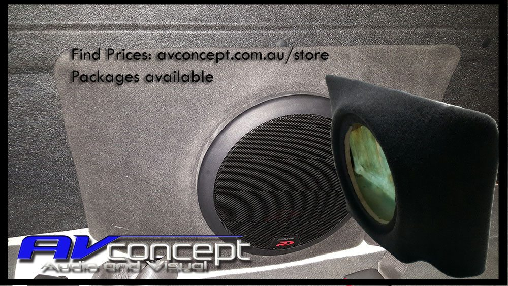 Toyota Hilux Dual Cab Subwoofer Stereo Box on Car Audio Subwoofer Amplifiers