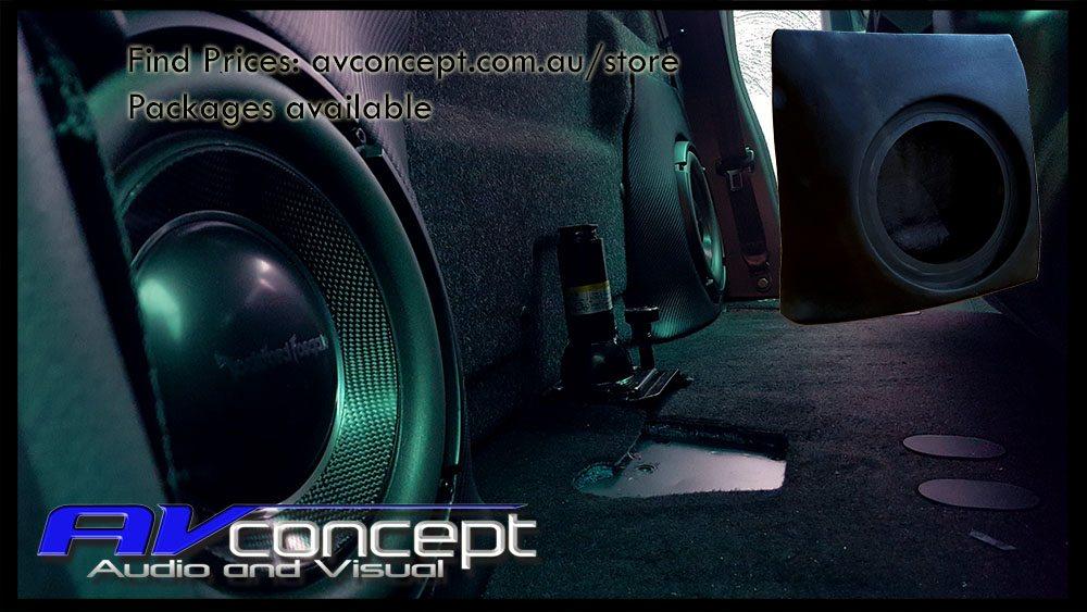 Volkswagen Amarok Stereo Subwoofer Solution