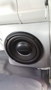 Toyota Landcruiser Subwoofer Box