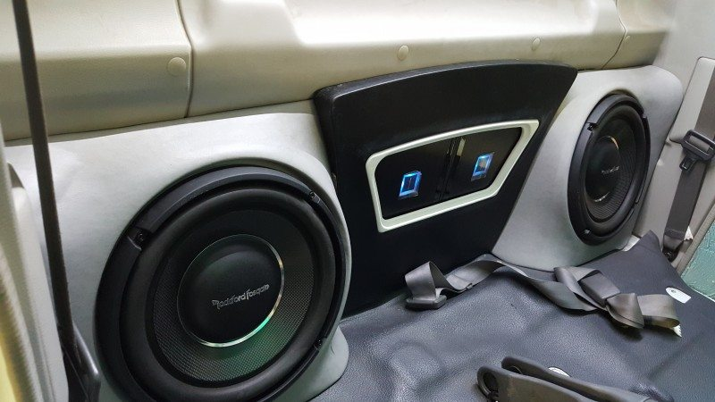 Toyota Landcruiser Stereo Sub System