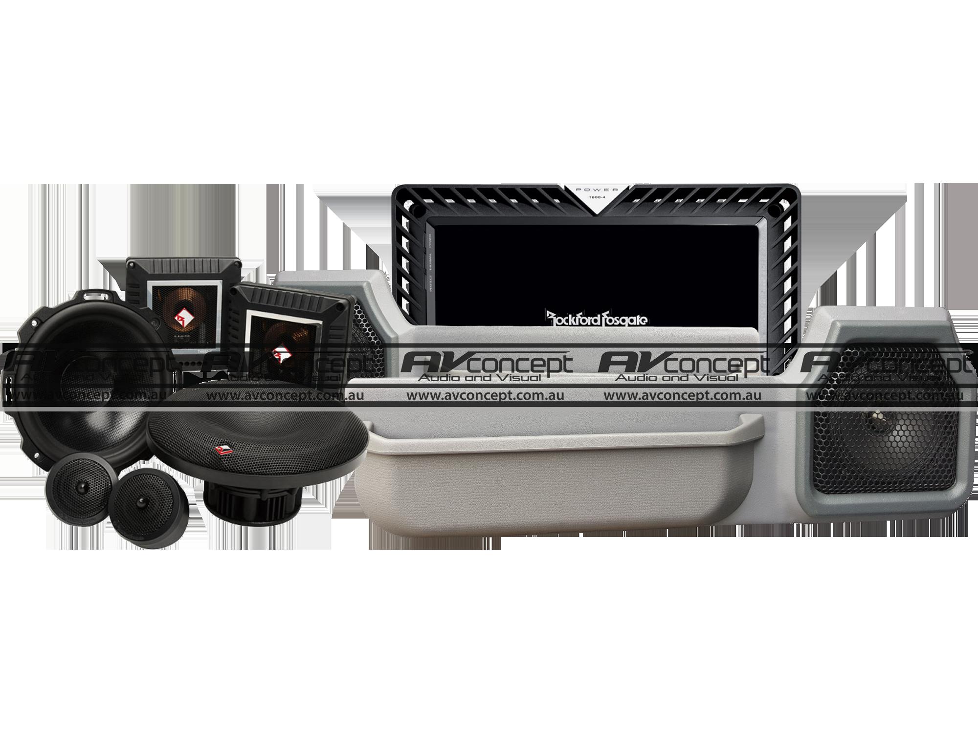 Toyota 79 Series Landcruiser Ute Premium Speaker Solution