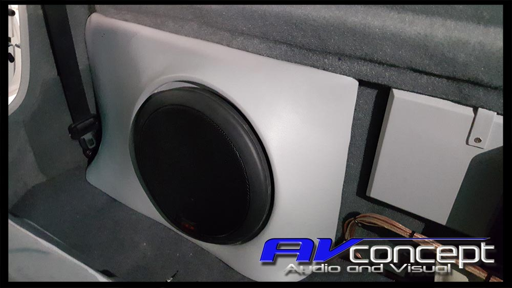 Sub box to suit Toyota Landcruiser