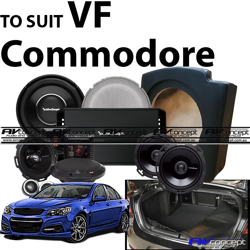 Holden VF Commodore Hit Hard Rockford Fosgate Package System