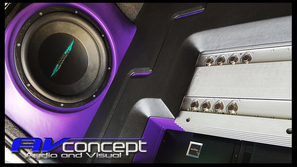Mitsubishi CJ Lancer Stereo Subwoofer Solution