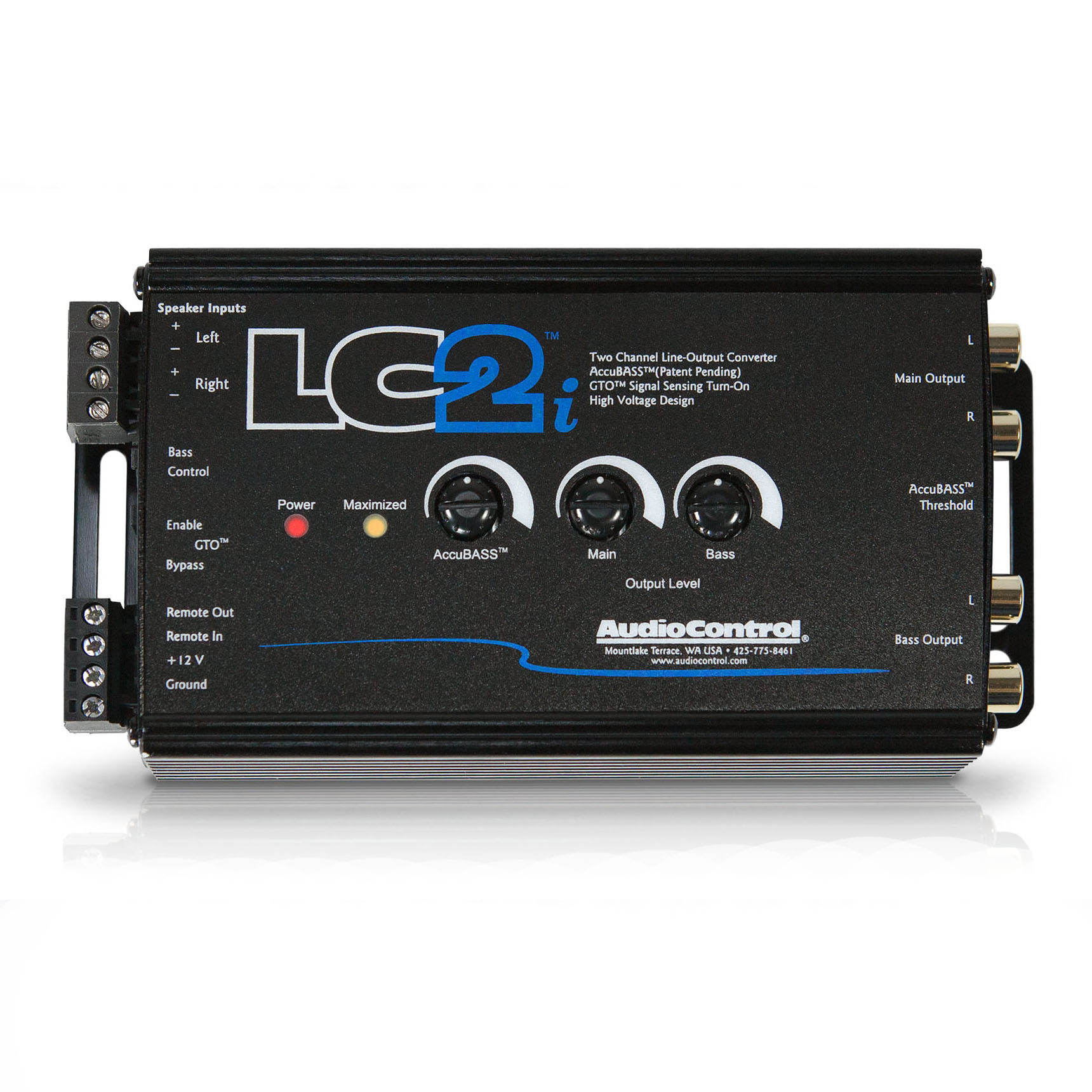 AudioControl LC2i 2 channel Line Out Converter with Accubass