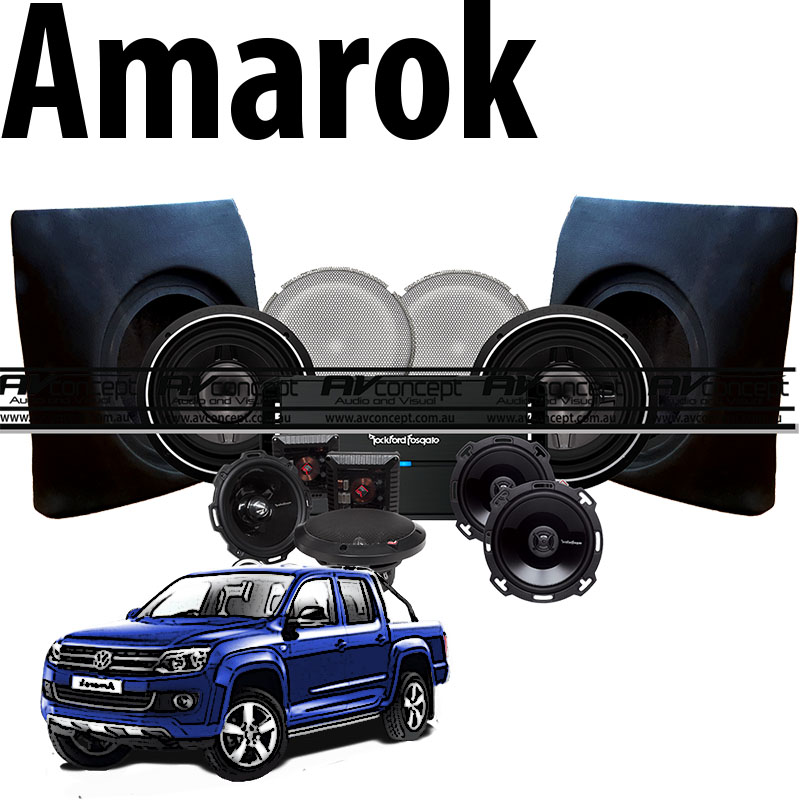 Stereo to suit Amarok
