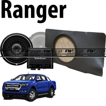 Ford Ranger 12 inch Sub Upgrade