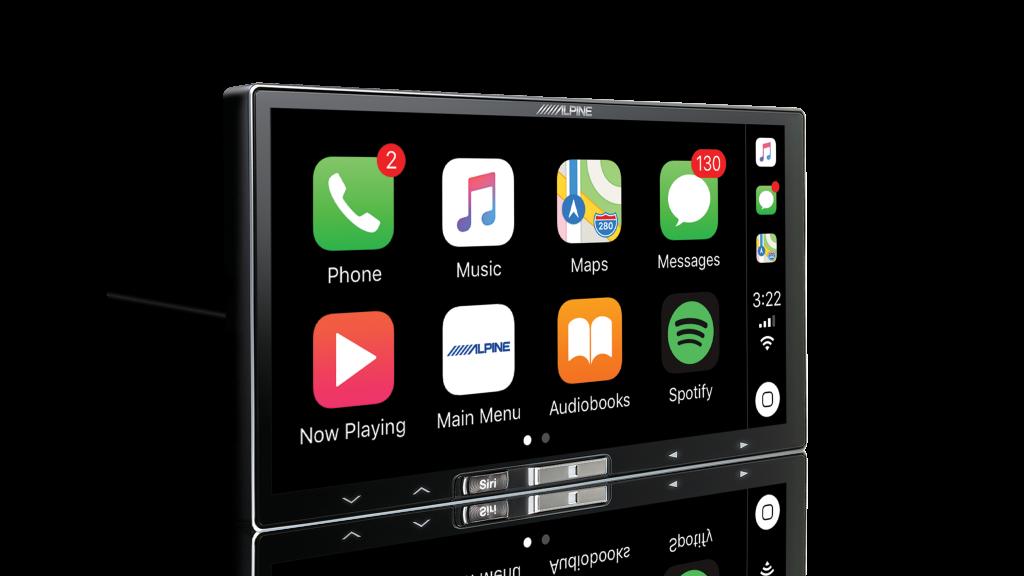 alpine ilx 107 wireless apple carplay screen av concept. Black Bedroom Furniture Sets. Home Design Ideas