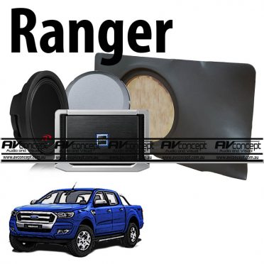 Ford Ranger Alpine Subwoofer Upgrade