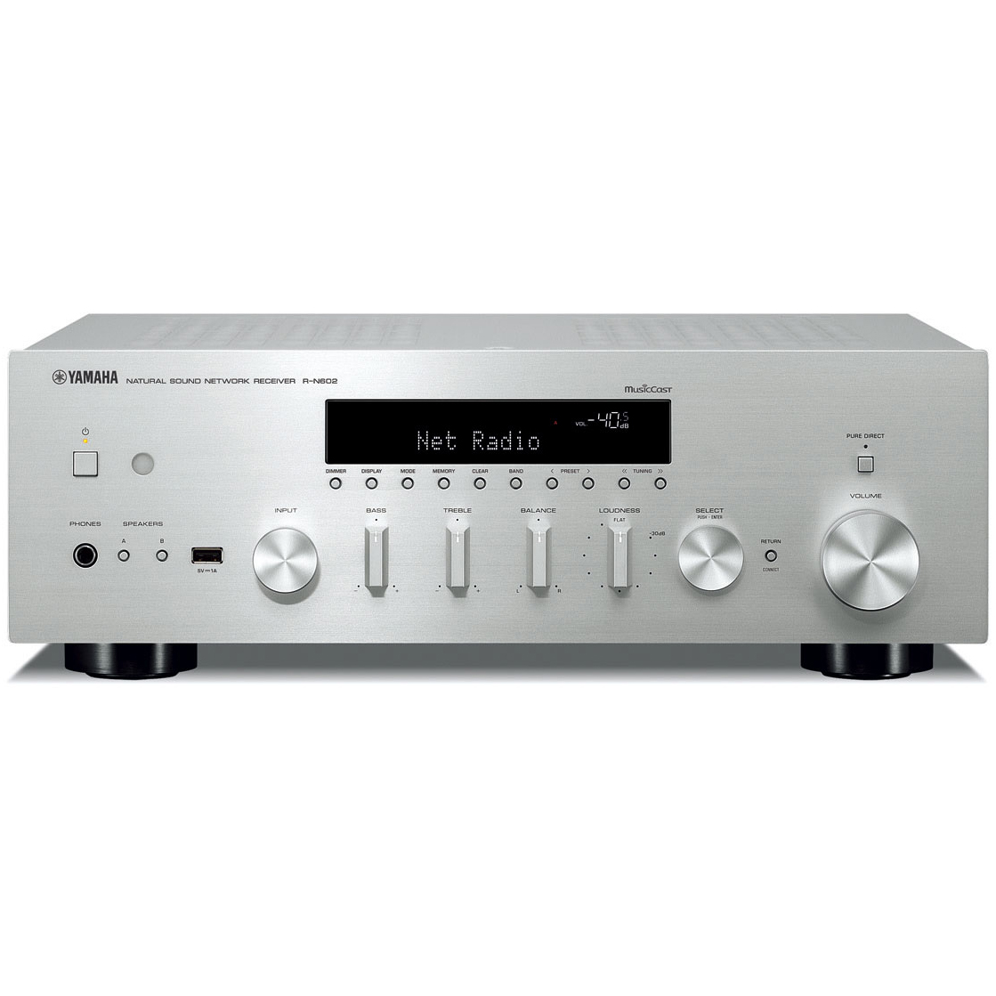yamaha r n602 stereo receiver av concept audio and visual. Black Bedroom Furniture Sets. Home Design Ideas