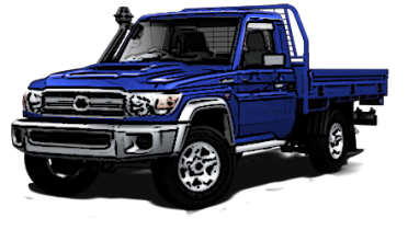 Landcruiser 79 series 2017 on Single Cab