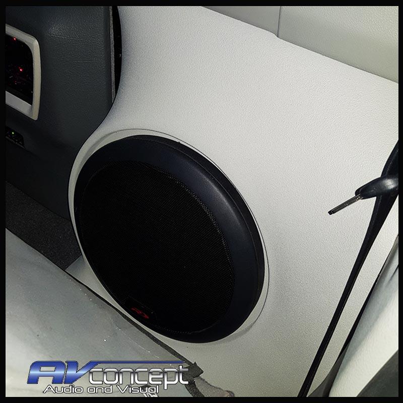 Sub box to suit Toyota Landcruiser