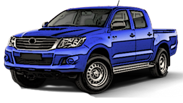 Hilux 2005 to 2014 Dual Cab